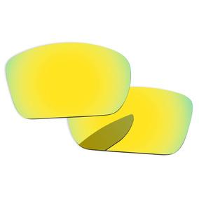 61cba9e435f4d Oculos Espelhados Baratos Dourado De Sol Oakley - Óculos no Mercado ...