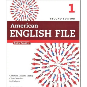 American English File 1 Second Edition Todos Livros + Midias