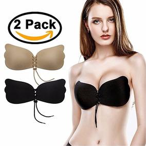 2 Piezas De Magic Bra/invisible Bra/strapless /push Up Bra