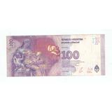 Billete Evita 100 Pesos C/ Error Impresion Falla Numeracion