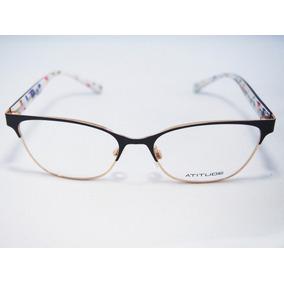 Armação Para Óculos Atitude Feminino At1645 Original Nfe 131cfb62a5
