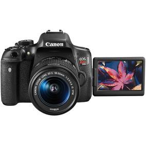 Camara Fotografica Canon Eos Rebel T6i 24.2 Mpx 18-55mm