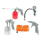 Kit Acessórios Para Compressor Kit Com 5 Peças Noll 355,0001