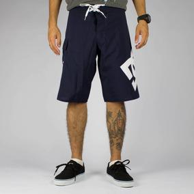 Bermuda Juvenil Dc Shoes Boardshorts Azul Marinho