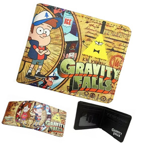 Gravity Falls Cartera Billetera Waddles Pato Bill Modelo02
