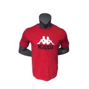 12d4a6728cd12 Polera Kappa Hombre Sportstyle Polera Kappa H Logo Cvc Kpmpo
