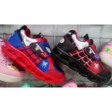 Zapatillas Spiderman Con Luces Envio A Provincia