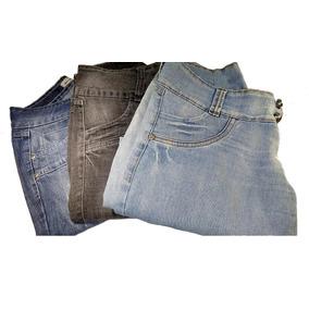 Lote 3 Calcas Jeans Femininas Tamanho 38 Varias Lavagens 8846d05aa70