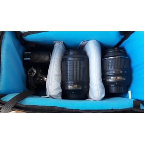 Nikon D5100 + 18-55 Mm + 55-200 Mm