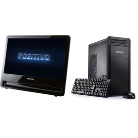 Cpu + Monitor Positivo Intel Core I3 4gb Hd 500gb - Barato