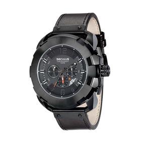 Relógio Seculus Masculino Cronógrafo Marrom 20467gpsvpc1