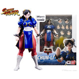 Figura Muñeco Anime Street Fighter Chun Li Figuarts Bandai