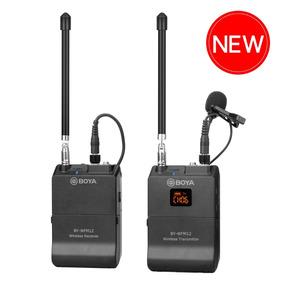 Microfone Boya By-wfm12 Vhf S/ Fio P/cameras/smartphones