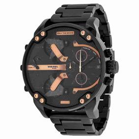 bd93bcd6ea7 Reloj Diesel 5 Bar Cronografo Real - Reloj de Pulsera en Mercado ...