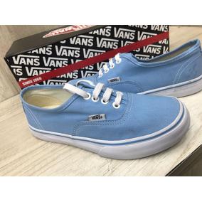 d485031df01 Tenis Vans Authentic Azul Bebê E Branco Feminino Original