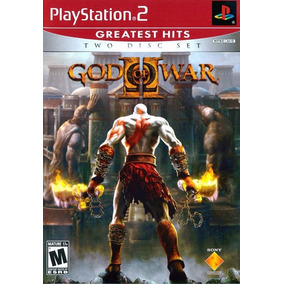 God Of War 2 Ps2 Greatest Hits 2 Discos Frete 13,00 A8389