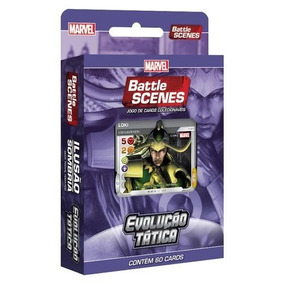 Deck Marvel Battle Scenes Evolução Tática Ilusão Sombria