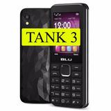 Blu Tank 3 Original Com Rádio Fm Mp3 Bateria Monstro!