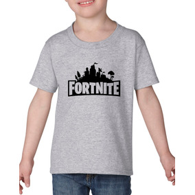 Playera Fortnite Battle Royale Videojuego Niño Niña