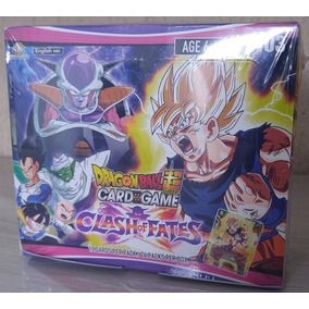 Dragon Ball Super - Clash Of Fates - 24 Boosters Em Ingles