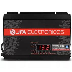 Fonte Carregador Automotiva 60a Jfa Sistema Inteligente Sci