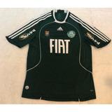 Camisa Palmeiras Fiat 2008 no Mercado Livre Brasil ffbc06a147afa