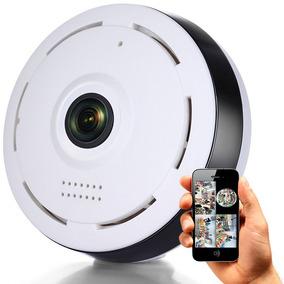 Camara Ip 360° Fish Eye Full Hd 1080p Infrarroja Parlante