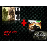 Call Of Duty Mw Trylogy / Black Ops 1 Y 3 Xbox 360- Xbox One