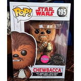 Funko Pop! Chewbacca Exclusive Flocked Star Wars