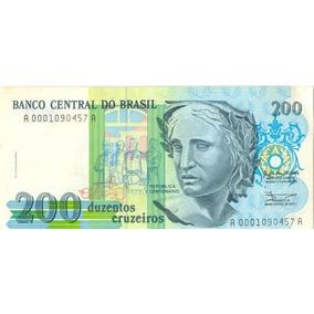 Cédula De 200 Cruzeiros - Frete Grátis!