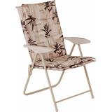 Cadeira Poltrona Estofada Kairos Para Jardim E Casa Mor