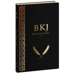 Bíblia King James Fiel 1611 Ultra Fina Preta Lançamento Bkj