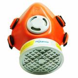 2 Máscara Respirador 1 4 Facial C  Filtro Vapores Voga 4e639a4b91