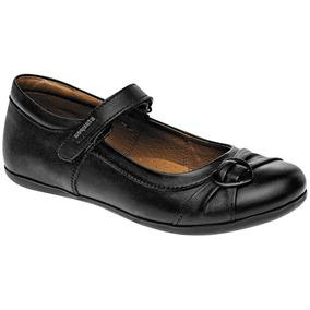 Zapato Escolar Para Niña Marca Coqueta Piel 55900 Dgt