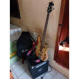 Flamante Bajo Electrico Yamaha + Amplificador Hartke Hd 50