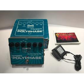 Pedal Analogo Electro Harmonix Stereo Polyphase Phaser