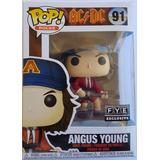 Funko Pop! Original Angus Young #91 Fye Exclusive