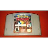 Pokemon Stadium Para Nintendo 64 N64