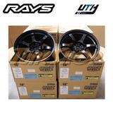 Rines Rays 57dr 18x9.5 5x114 +12 Semi Gloss Black Gramlights