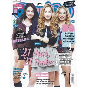 Lote Com 4 Revista Capricho Coleção Rebelde