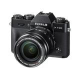 Câmera Digital Fujifilm X Series X-t20 + Lente Xf18-55mm
