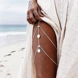 Leg Chain Body Chain Corrente De Perna Coxa