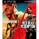 Max Payne 3 Complete Edition & Red Dead Redemption Bundl Ps3