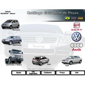 Catálogo Eletrônico Peças Volkswagen Audi Seat 2004 Brasil