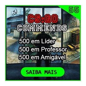 Csgo - 500 Elogios No Perfil - Commendations Cs Go.