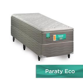 Colchão Solteiro Paraty Eco Molas Lfk 2.2 A30 88x188cm