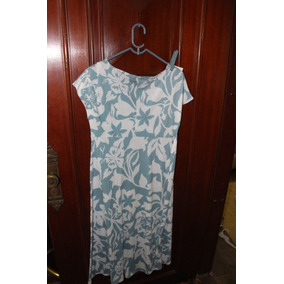 = Roupa Lote 583 Mulher Vestido Florido P Criatiff Azul E Br