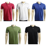 0862ba26a9 Kit 3 Camisas Pólo Masculina Alto Padrão Blusa Camiseta Pólo