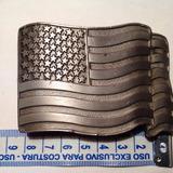 Fivela Metal Importada Bandeira Usa 96 709f4ecd3d