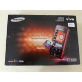 Samsung Star Tv Gt-i6220 De Vitrine